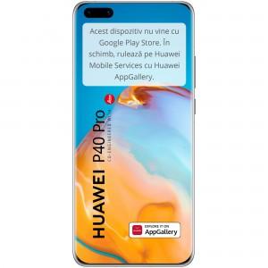 HUAWEI P40 Pro 5G, 256GB, 8GB RAM, Dual SIM, Ice White